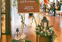 Welcome Signs & Tables