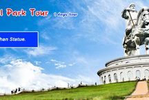 Travel destinations MONGOLIA
