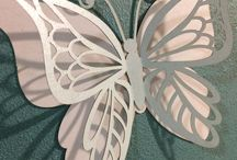 DXF butterfly template