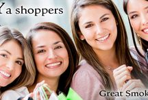 Shopping in the Great Smoky Mountains / Shop till your heart's content! You will find it all in the Great Smoky Mountains!