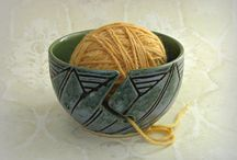 Pottery - Inspiration - Bowls - Yarn / by Eileen Conner