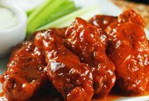 Alistas de pollo picante