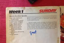 Recipes - Lunches