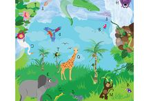 Imagination Play Mats / Play mats designed to inspire creativity and fun educational play!