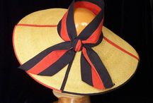 Millinery ribbon inspiration / by Cristina de Prada