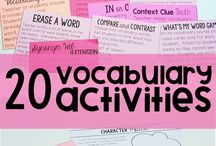 English resources activities