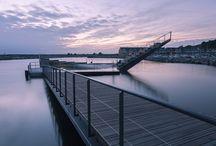 waterfront & wood
