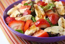 Salads and wraps / by Christine Diedrich