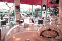 Vintage Rose Cafe / My cafe decoration , design
