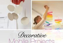 Mobiles / Mobiles can be very relaxing for Baby, and are a delight in every first nursery.