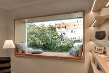 Stove vindauge/sitteplass