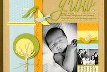 Baby Scrapbook Pages / by Dianne Pray Morton