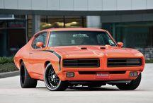 Pontiac Firebird 1969 / Hugger Orange 69 genuine colour