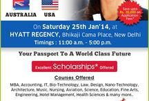 GLOBAL EDUCATION EXPO 2015 / GLOBAL EDUCATION EXPO 2015 Meet University Representatives in person,Wide range of courses offered,Get Application fee waivers,Avail Scholarships,Details on Post Study Work Permit,FREE Visa guidance,Assistance in Visa Application http://www.globaleducationexpo.com/