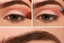 Make up looks, hair, nails