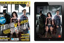Batman v Superman Dawn of Justice  Total Film Magazine 2015 / Batman v Superman: Dawn of Justice featured in Total Film December issue 2015