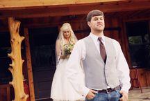 B+C's Miranda Lambert inspired Mississippi Wedding: antlers and roses