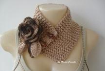 Golas de Inverno / Golas em tricot
