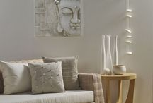 Zen collection / Cool, calm and collected pieces for the home - including wallpaper, screens and wall art
