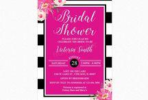 Kate Spade Bridal Shower / Kate Spade bridal shower inspiration and tips.