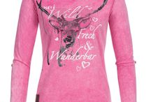 Shirts für Damen / Trachtenshirts
