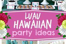 HAWAII BIRTHDAY PARTY