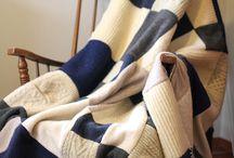 Decke Aus Alten Pullover