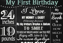 1st birthday ideas :)