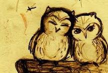 Owl Stuff / by Cheryl Crawford
