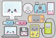 clipart kawaii vector
