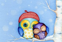 owls <3 / Owls are my all time favorite! / by Jennifer Broome