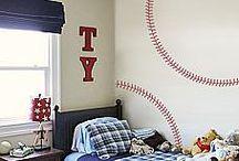 Baseball bedroom ideas / by Nicole Lloyd