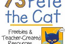 """""""Pete the Cat"""" activities"""