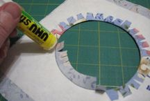 Freezer paper how to make a circle