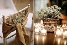Decoração rustica de Casamento