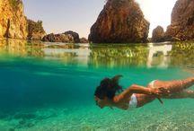 Dream Places / Travel Beaches around the world Ocean Sea