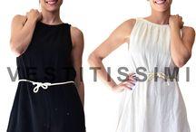 Vestito donna miniabito abito vestitino copricostume mare spiaggia sexy top Vs15