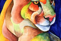Malerier og tegninger