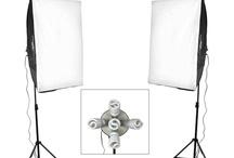 Rectangle Soft Box Lighting Set