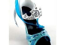 Disney Runway Shoe ornaments