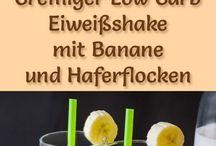 Eiweißshake mit Banane