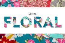 Floral / De la naturaleza a la moda! #zapatos #ropa #accesorios