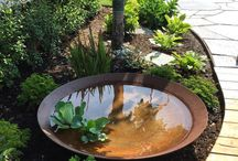 ponds in garden