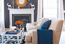 Blue Living Room Ideas / Ideas / by Melissa Pepper