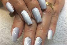 My nails...