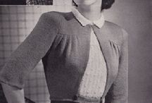 Vintage Knitting - Patronaje de punto