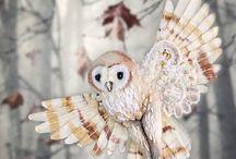 Украшения: Птицы