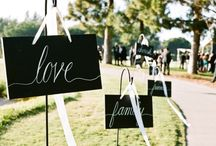 Wedding Inspiration / Inspiration for your dream wedding...
