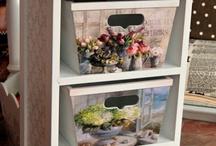 Шкаф и ящики