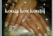 nails / loveeeeeeeeee the art on nails..